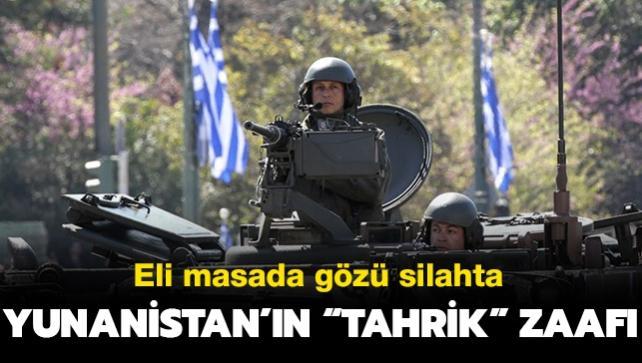Eli masada gözü silahta! Yunanistan'ın 'tahrik' zaafı...