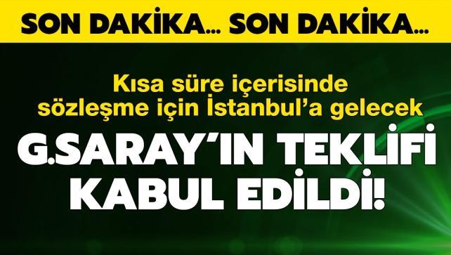 Ve G.Saray'ın teklifi kabul edildi! Yakında Türkiye'de...