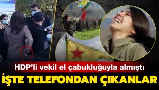 HDP'li vekil delilleri yok etmeye çalışmıştı: İşte o telefondan çıkanlar