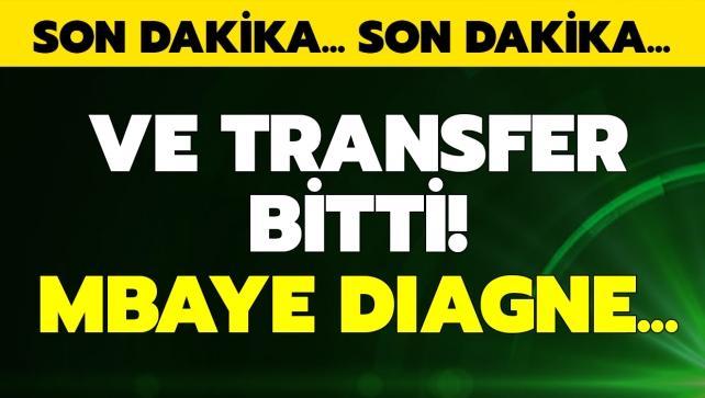 Son dakika: Ve Diagne gidiyor!