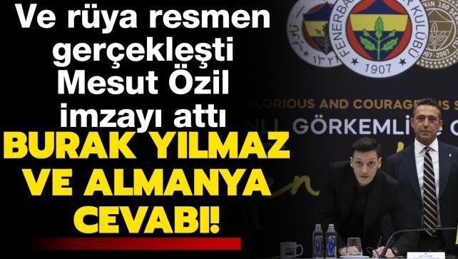 Mesut Özil, imzayı attı