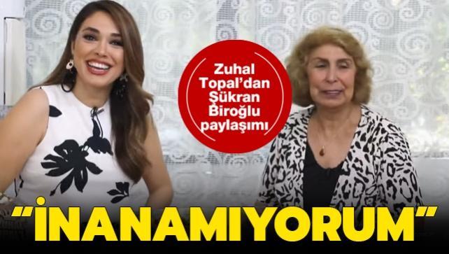 Zuhal Topal'dan Şükran Biroğlu paylaşımı: Böylesi bir son olmadı