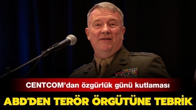 ABD'den terör örgütüne tebrik