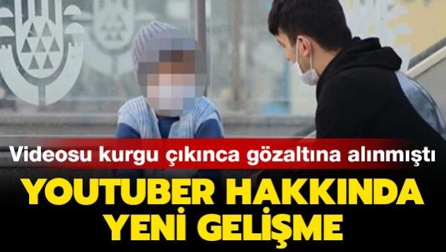 Kurgu olduğu ortaya çıkan videoyu çeken Youtuber Fariz Bahşeliyev hakkında yeni gelişme