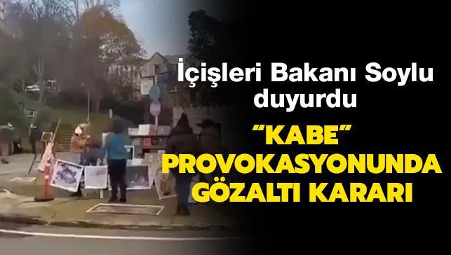 İçişleri Bakanı Soylu duyurdu... Boğaziçi Üniversitesindeki provokatörler gözaltına alındı