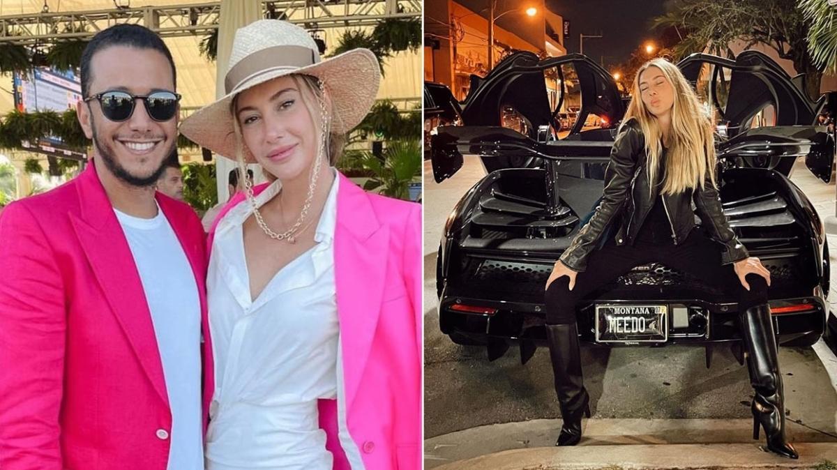 Şeyma Subaşı, Mısırlı sevgilisi Mohammed Al Saloussi'nin arabasıyla hava attı
