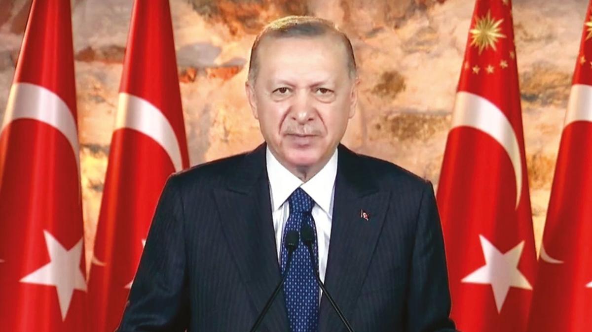 Başkan Erdoğan: Bunların hedefi mega projeleri durdurmak