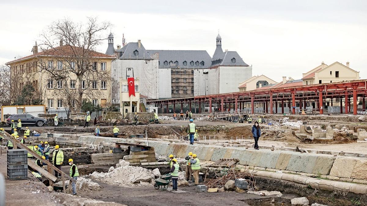 Hem müze hem tren istasyonu olacak