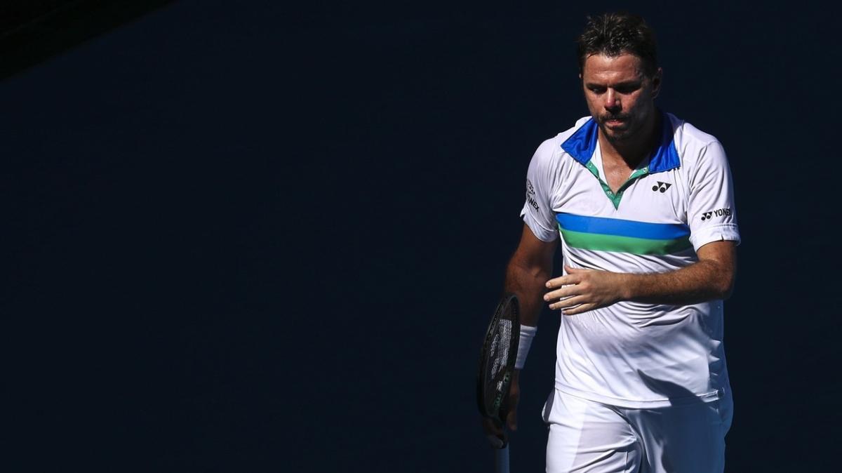 2014 şampiyonu Stan Wawrinka'dan Avustralya Açık'a erken veda