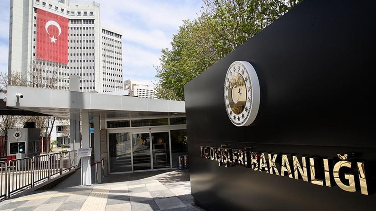 Dışişleri Bakanlığı BM Misyonuna düzenlenen terör saldırısını kınadı