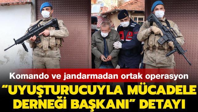 Komandolu operasyonda 50'den fazla şüpheli gözaltına alındı