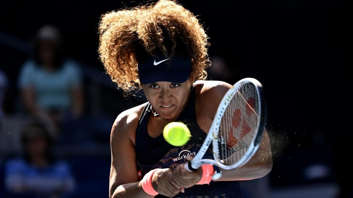 Avustralya Açık'ta Naomi Osaka zorlanmadan 4. tura yükseldi