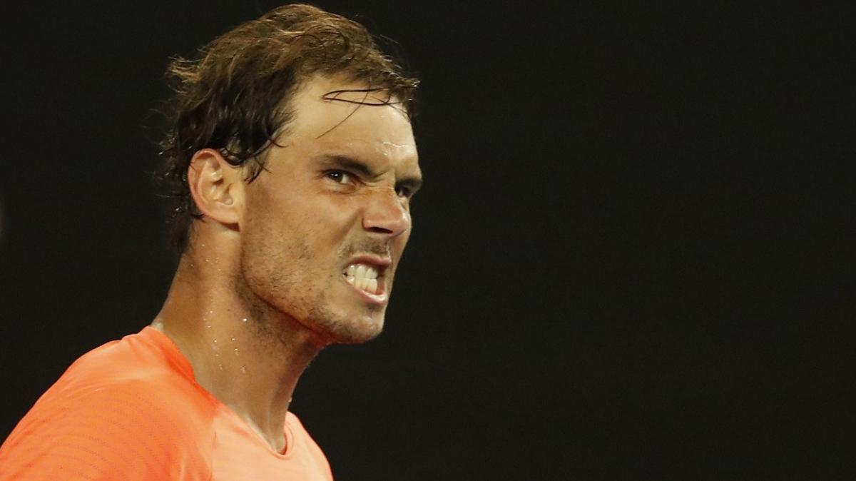 Avustralya Açık'ta Rafael Nadal set vermeden 4. tura yükseldi