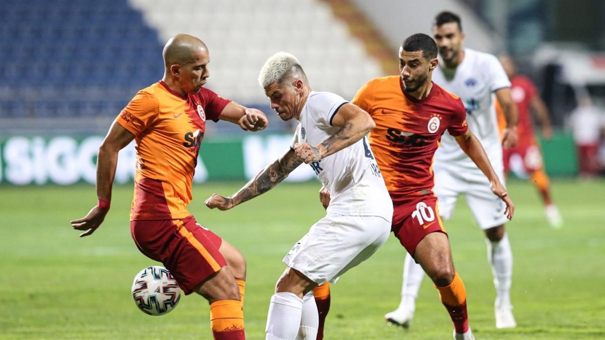 Galatasaray'dan iç sahada Kasımpaşa'ya ezici üstünlük