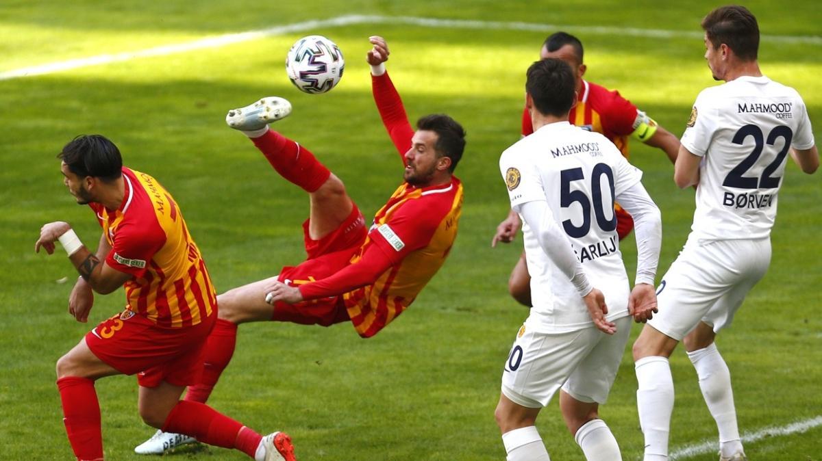 MKE Ankaragücü deplasmanda Kayserispor ile 0-0 berabere kaldı