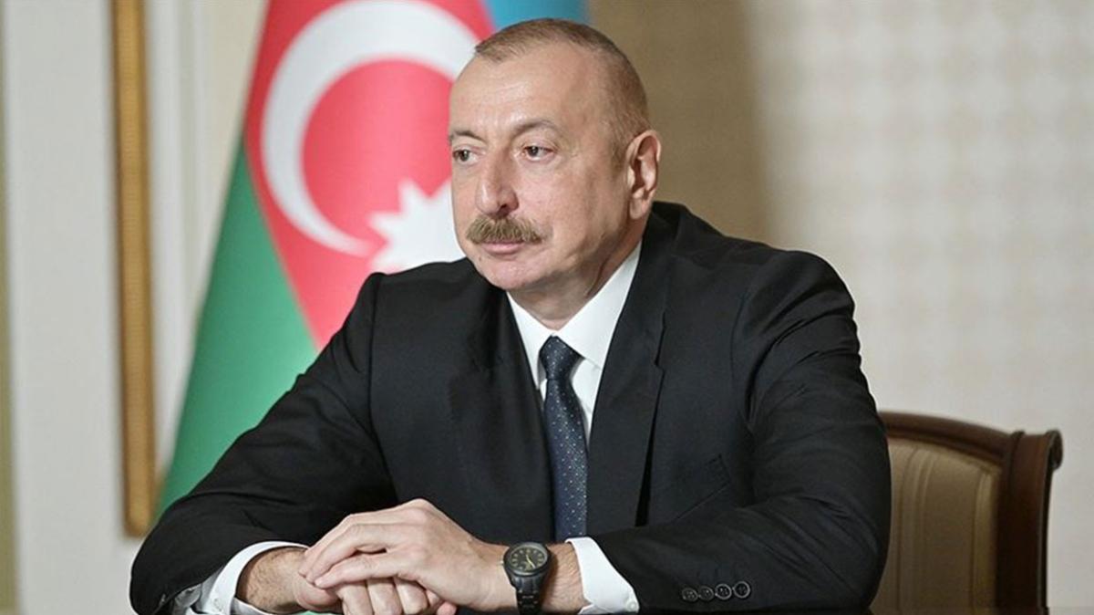 Aliyev'den Başkan Erdoğan'a 13 sivil şehit için taziye mesajı