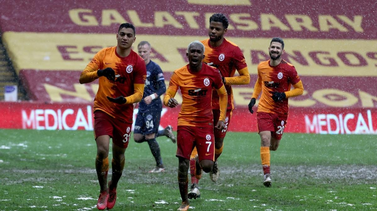 Mustafa Muhammed Galatasaray'ı zirveye uçurdu
