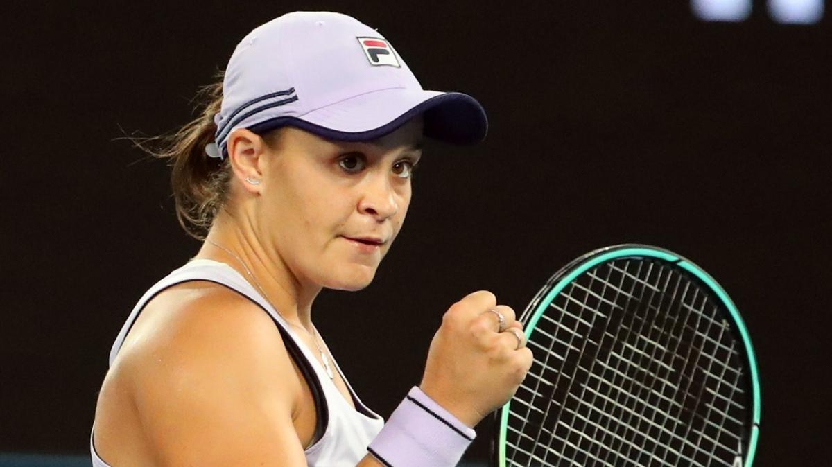 Avustralya Açık'ta Ashleigh Barty turladı, Matteo Berrettini turnuvadan çekildi