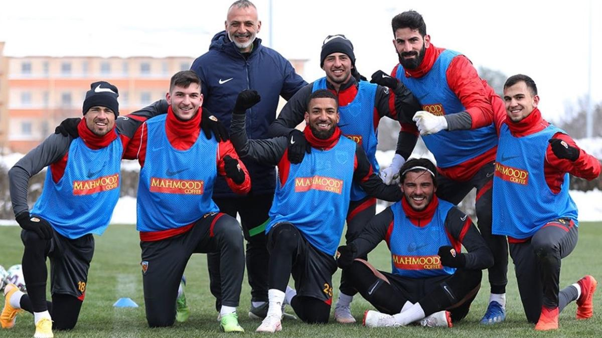 Kayserispor'da hazırlıklar devam ediyor! Hedef Sivasspor galibiyeti...