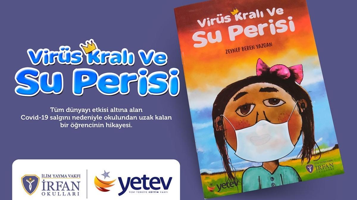 Karantinada kitap yazan çocuk