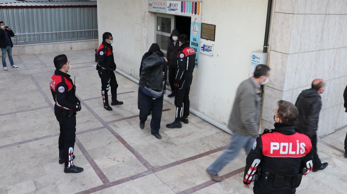 Kumar oynarken yakalandılar... 112 bin lira para cezası kesildi