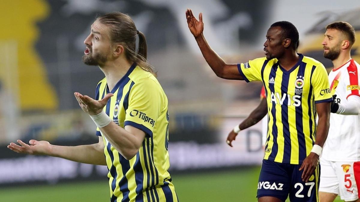 Fenerbahçe'de Caner Erkin ve Mame Thiam görüşme odasında
