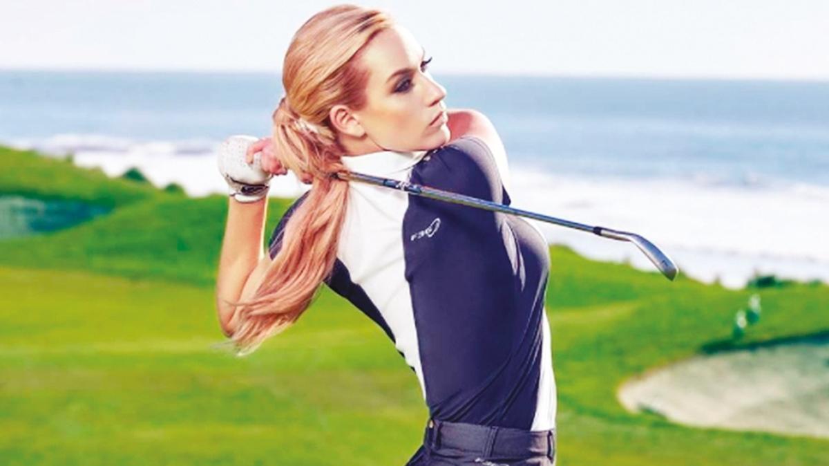 Profesyonel golfçü Paige Spiranac'in her paylaşımı 100 bin TL kazandırıyor