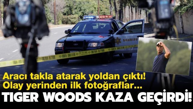 Son dakika: Dünyaca ünlü golfçü Tiger Woods, trafik kazası geçirdi! Ameliyata alındı...