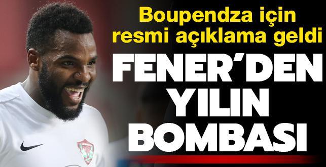 Fener'den yılın bombası! Boupendza için resmi açıklama geldi