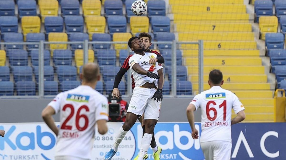 Gençlerbirliği ile Yeni Malatyaspor yenişemedi