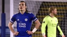Leicester City, UEFA Avrupa Ligi'nde Slavia Prag'a elendi
