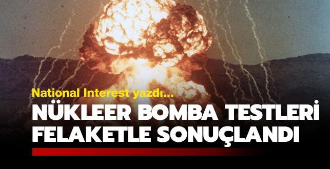 Nükleer bomba testleri pahalıya patladı