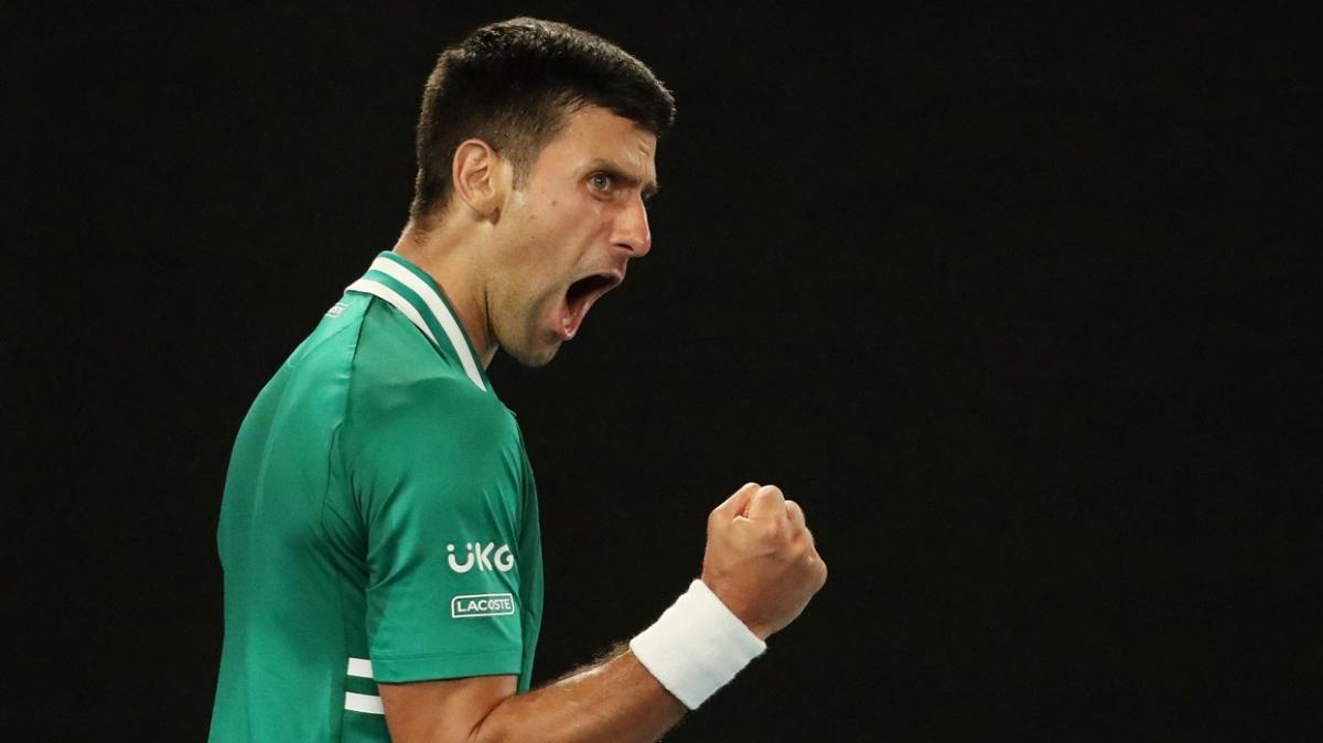Novak Djokovic'ten muhteşem istatistik! Tarihe geçti...