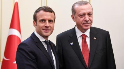 Başkan Erdoğan ve Macron'dan kritik görüşme