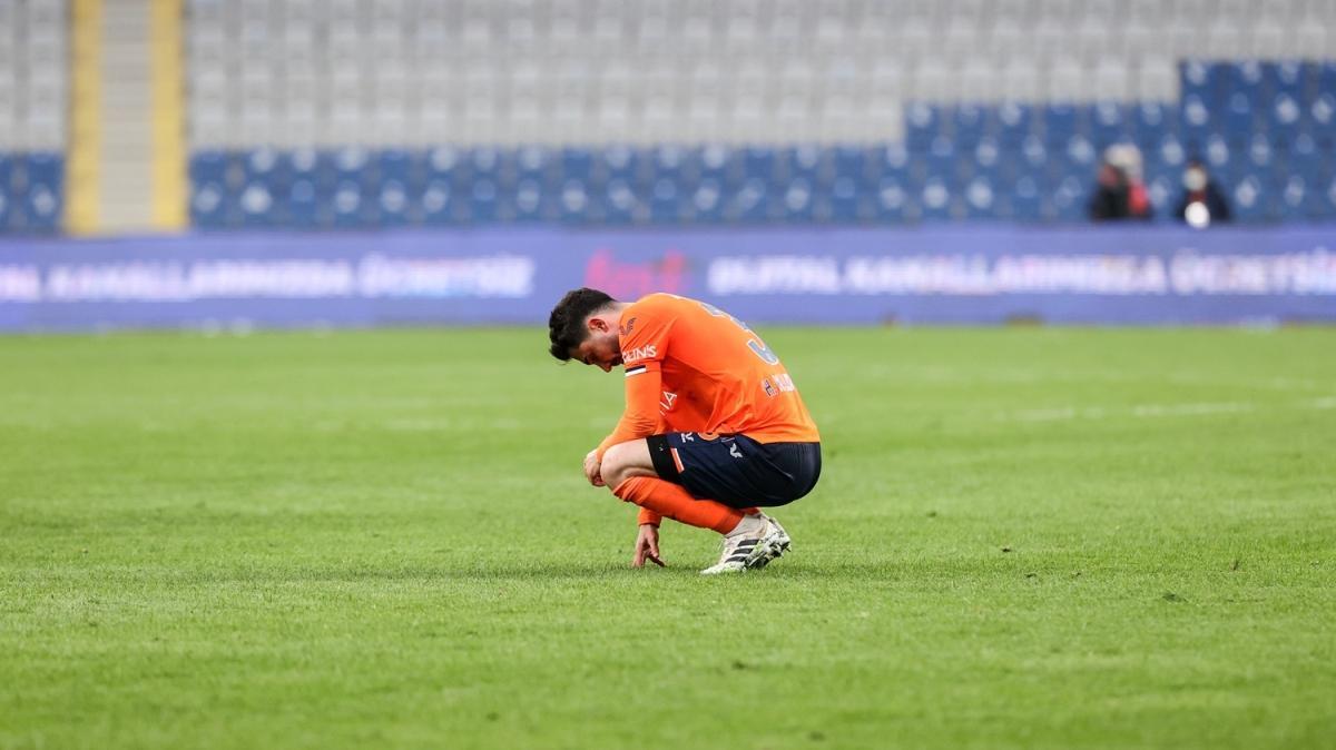 Medipol Başakşehir, 10 maçtır kazanamıyor!