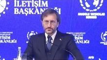 İletişim Başkanı Fahrettin Altun: ''En büyük tehditlerden biri dijital faşizmdir''