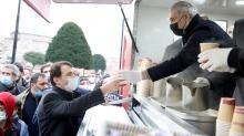 AK Parti İstanbul İl Başkanı Kabaktepe Ayasofya'da gençlerle sabah namazı kıldı