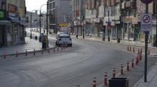 Aksaray'da bu hafta sonu için alınan kararla market bakkal ve fırınlar kapatıldı