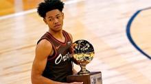 NBA All-Star Smaç Yarışması'nın kazananı Anfernee Simons