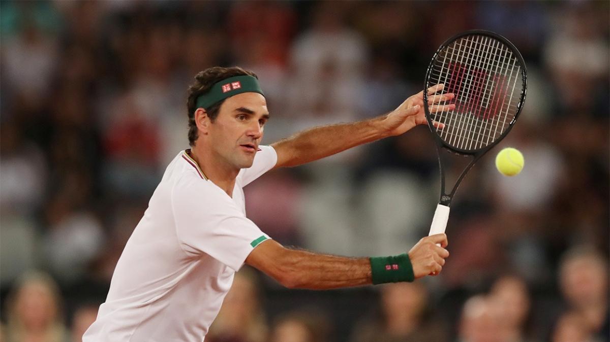 Majesteleri Roger Federer, galibiyetle döndü