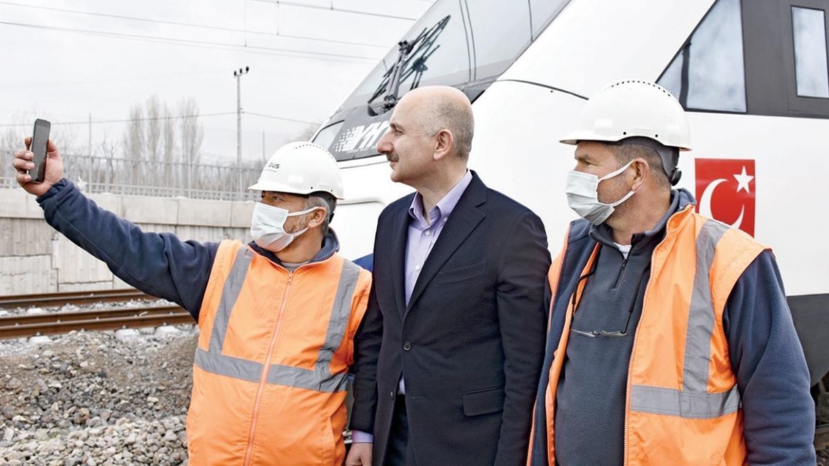 Ankara-Sivas hattı haziranda açılıyor