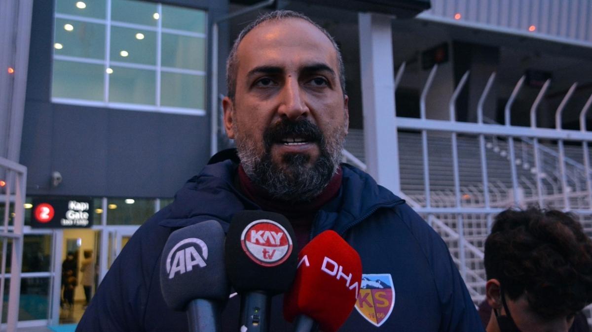 Galatasaray maçı öncesi Kayserispor'dan Sivasspor'a taş: Hiçbir endişemiz yok