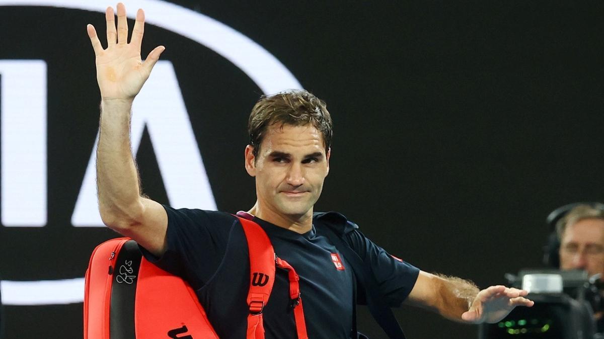Roger Federer turnuvaya veda etti
