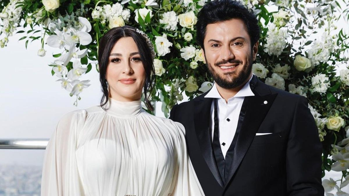 Ünlü oyuncu Yasemin Sakallıoğlu ve Burak Yırtar evlendi