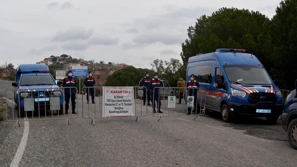 Son dakika haberleri... Balıkesir'de bir mahalle için karantina kararı