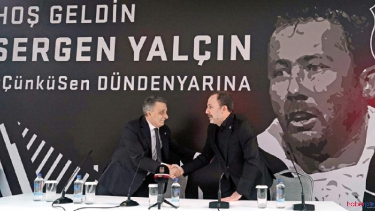 Beşiktaş'ta Sergen Yalçın planı: Önce derbi, sonra imza