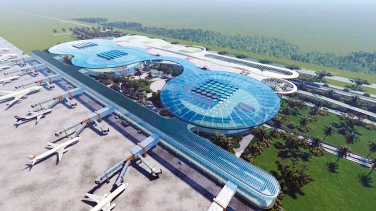 Çukurova Havalimanı'nın % 92'si bitti! Bakan Adil Karaismailoğlu: İlk etap 2022'de hizmete giriyor