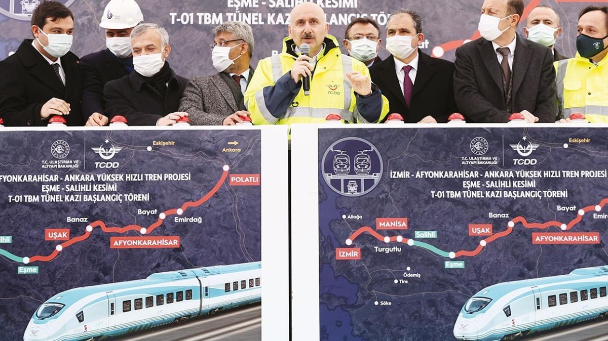 Ankara-İzmir arası 3.5 saate düşecek