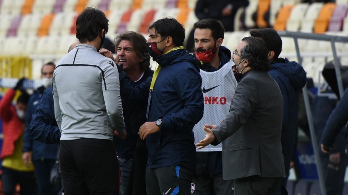 Malatya'da yüksek tansiyon! Penaltılar, kırmızı kartlar, 4 gol...