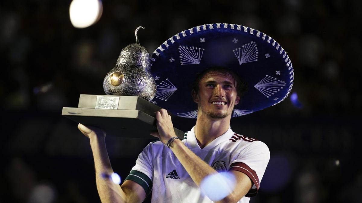 Meksika Açık'ta Alexander zafer Zverev'in
